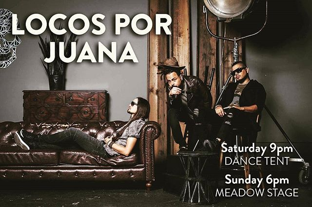 This weekend we'll be playing 2 shows at @shakorihillsgrassroots. Don't miss it! #locosporjuana #RTMP #shakorihills #nc #northcarolina #grassroots