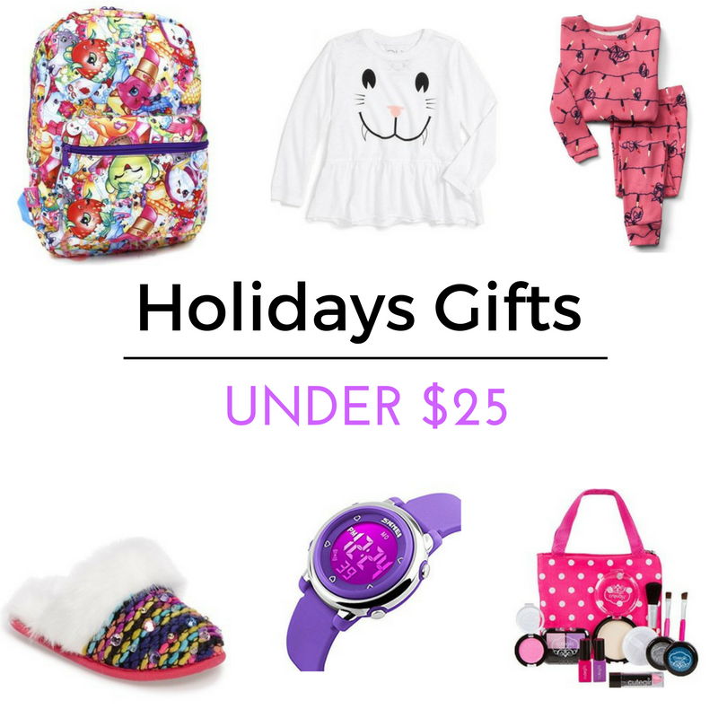 Shopkins Backpack    Girls T-Shirt    Festive Lights Sleep Set    J Rainbow Faux Fur Slip on    Led Digital Watch    CuteGirl Cosmetics Pretend Play Make Up Kit