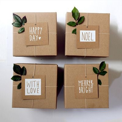 our gift wrapping is on point too! Here's a fun idea for you to try.  #simpleswag