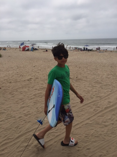 Surfs up Dude #beachtime. This was at ditch Plains and it was cool.