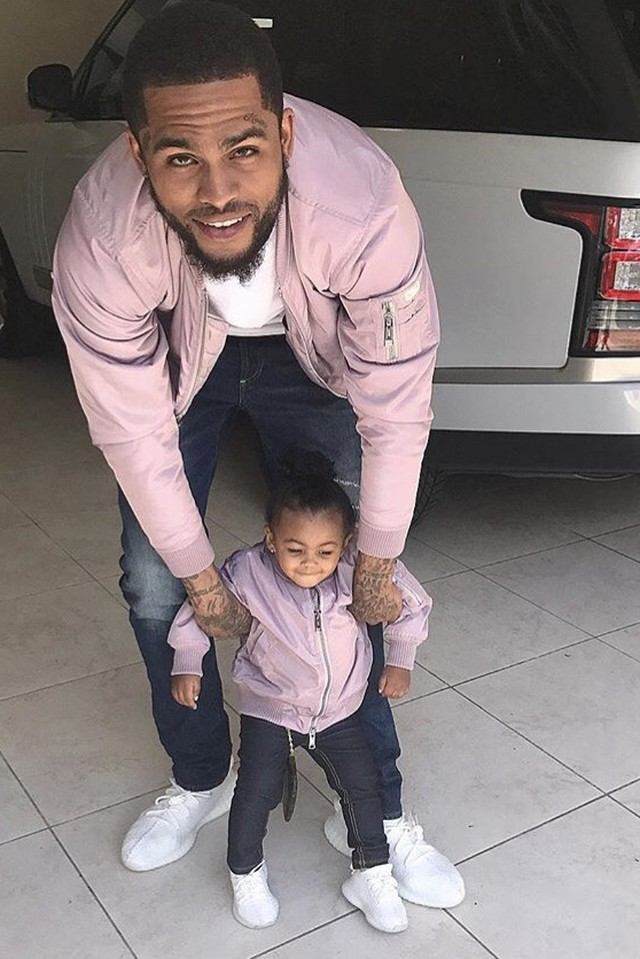 "Dave East and his daughter Kairi ""Swaggin"""