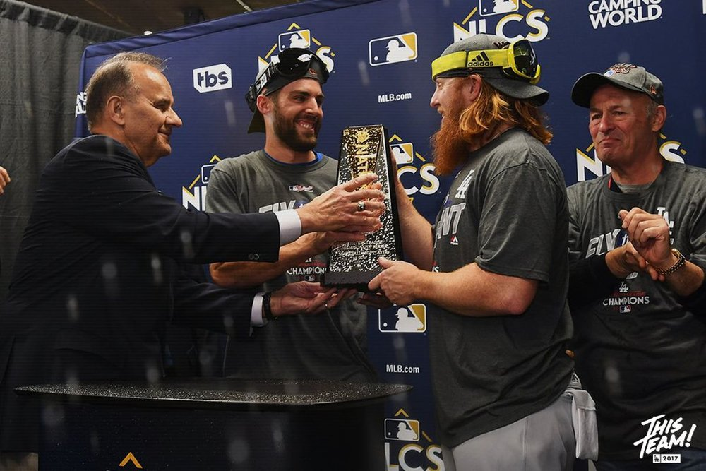 Chris Taylor and Justin Turner win Co-MVP honors