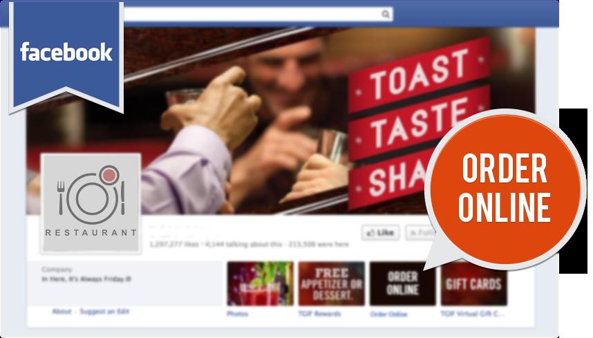 Ordering on Facebook