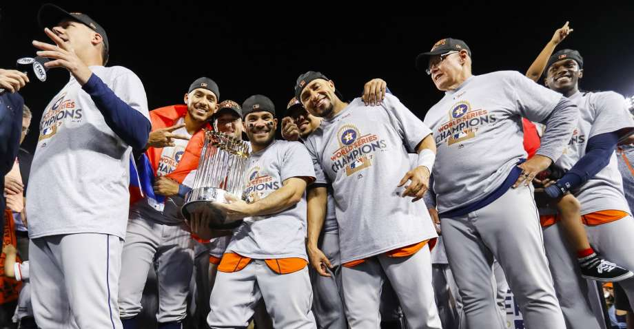 The Houston Astros 2017 MLB Champions