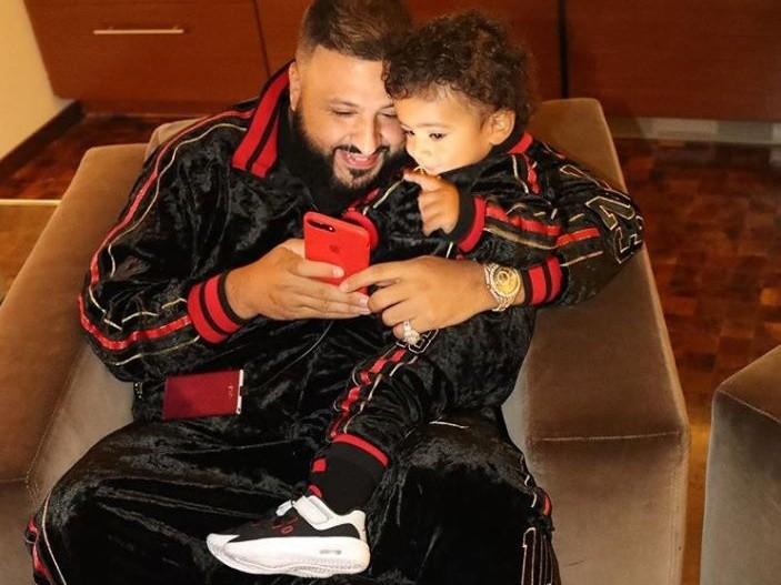 Dj Khaled and Son Asahd
