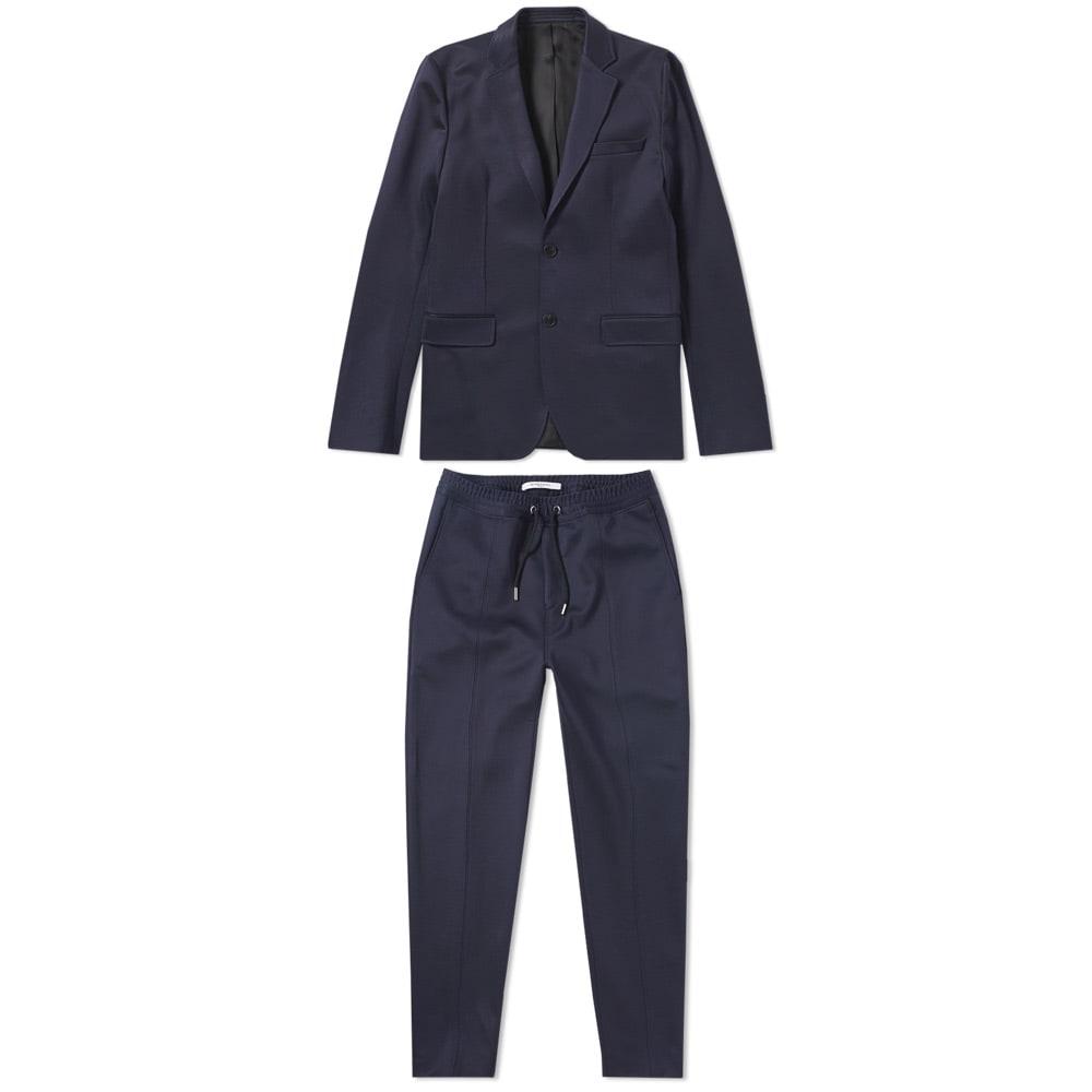 Classic Navy Blue Suit