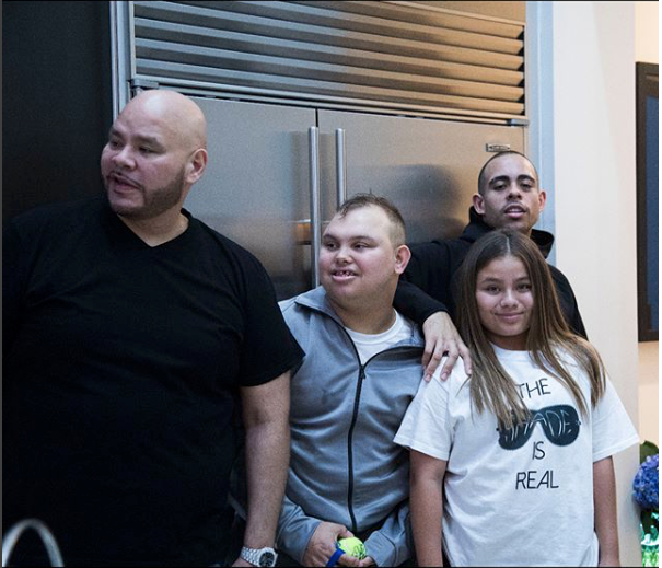 Fat Joe and his Children's