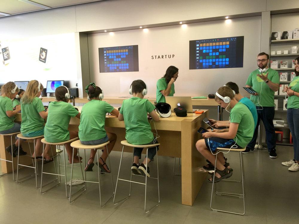 Apple Summer Camp for Kids