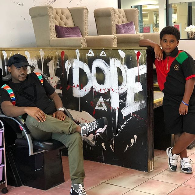 @ohshit_itsjada  and Son rocking the Father & Son Collection