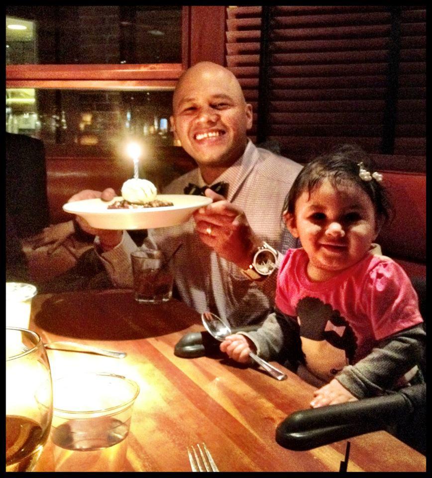 Daddy and Ella, Happy Birthday Ella..