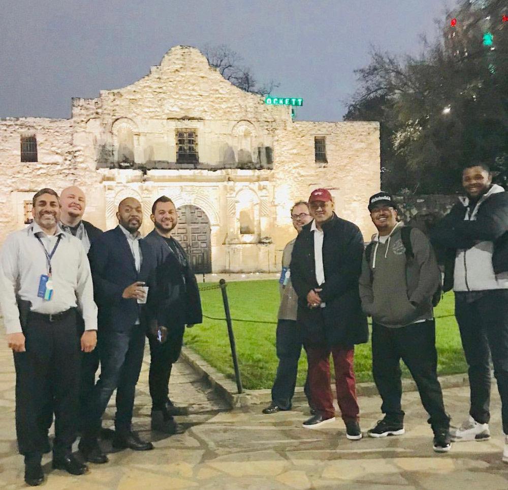 A Few Good Dad's at the Alamo