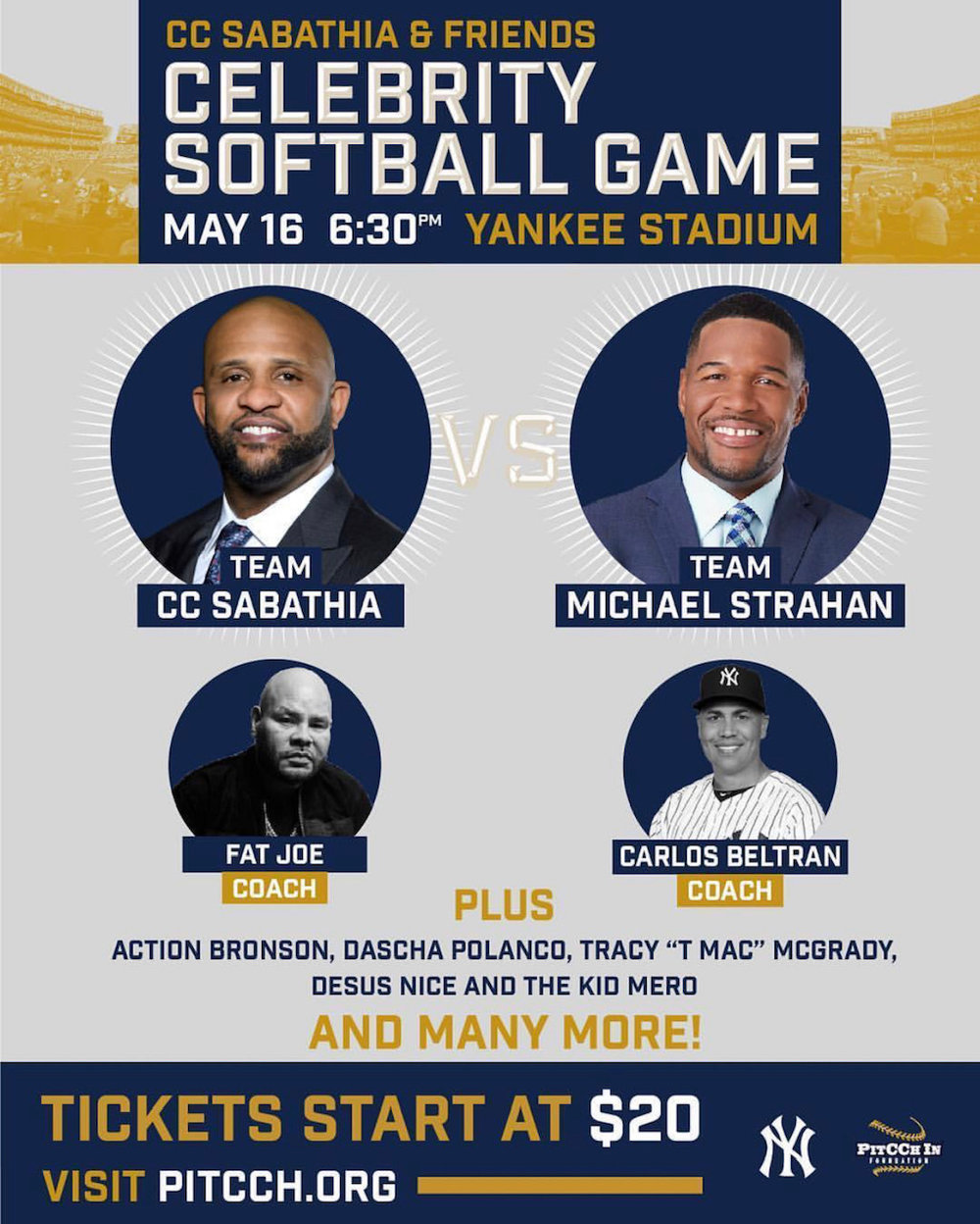 CC Sabathia & Friends