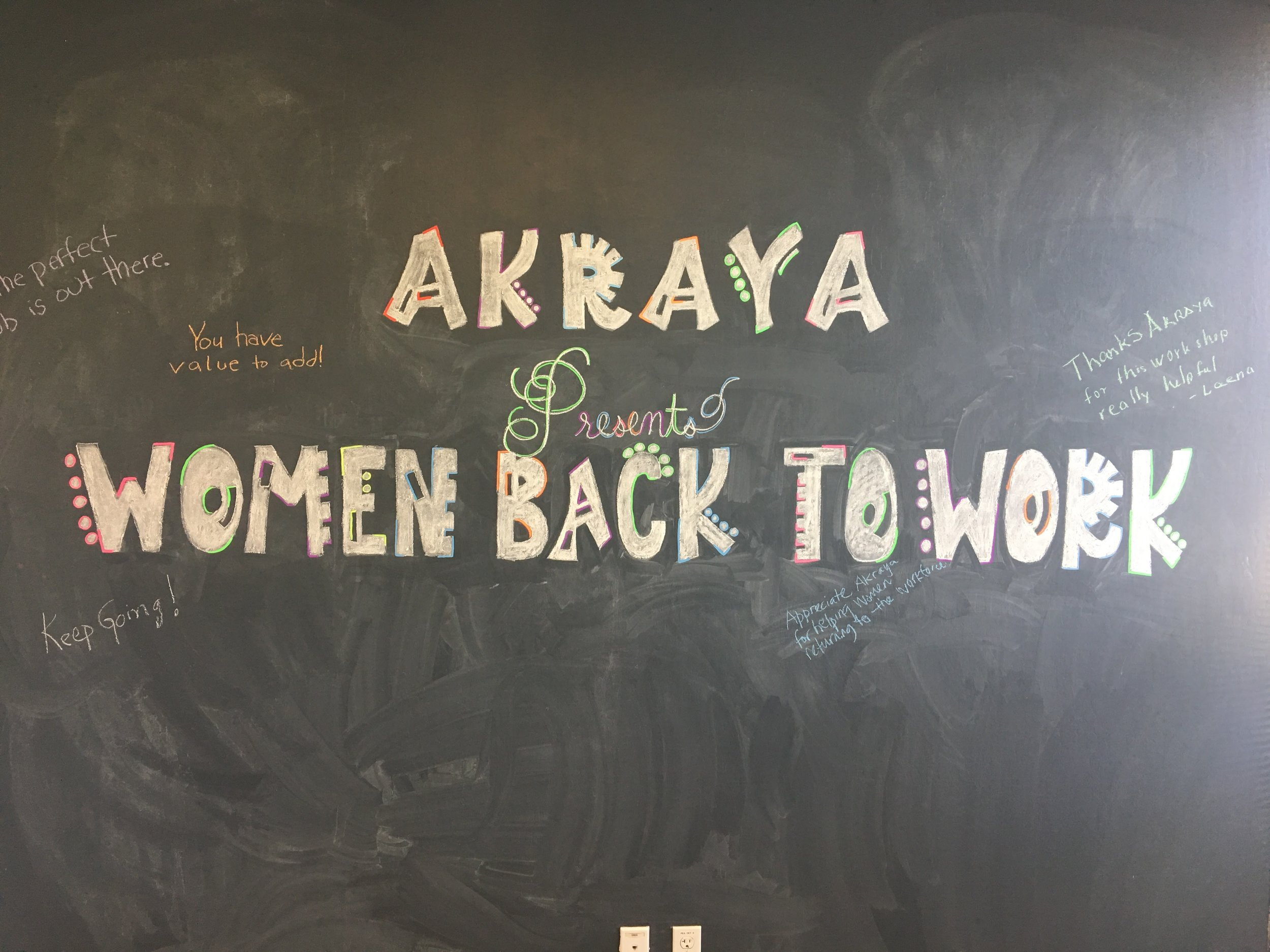 Back To Work : Women back to work