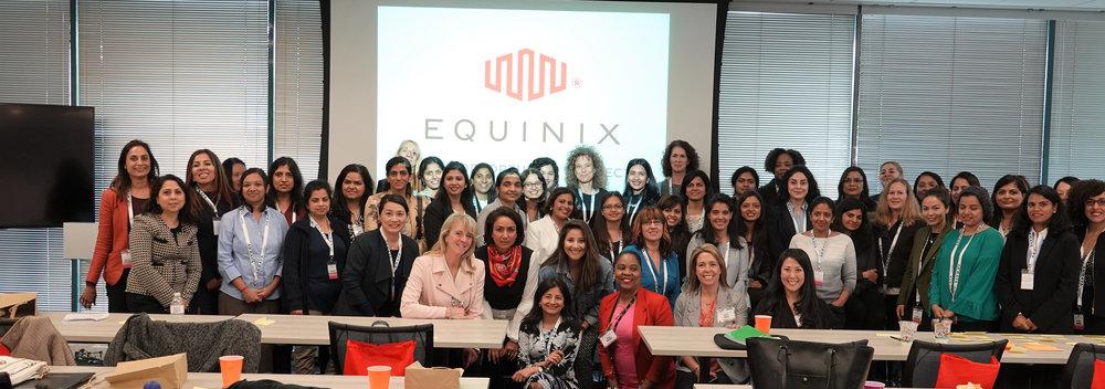"Women Back to Work ""Returnship"" event at Equinix, Inc."