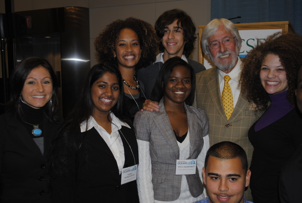 BIG BLUE & YOU CREW WITH JEAN-MICHEL COUSTEAU AT 2011 NCSE CONFERENCE IN WASHINGTON, D.C.