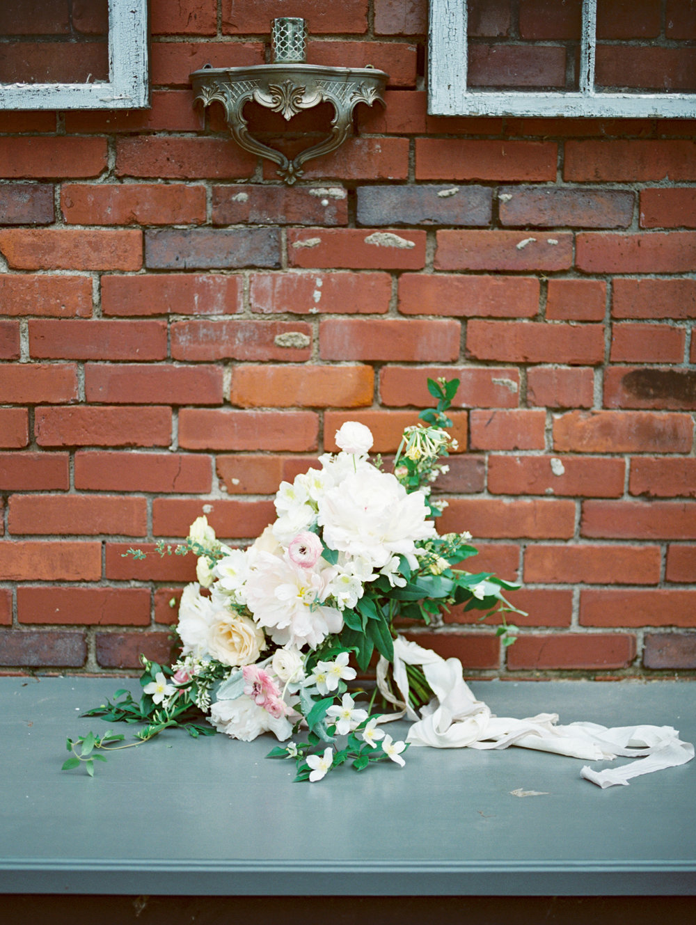 Love Letters Styled Shoot at 20 West: Wedding Flowers by Petal and Pine