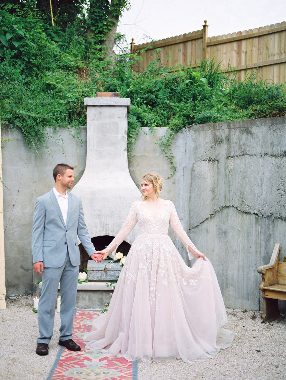 Love Letters Styled Shoot at 20 West: Hayley by Hayley Paige gown from House of White