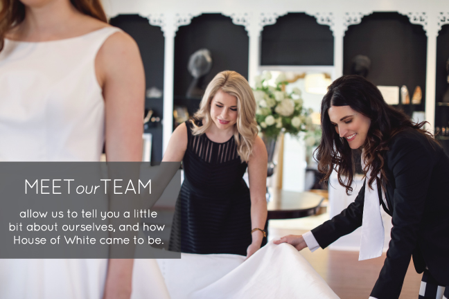 House of White bridal stylists