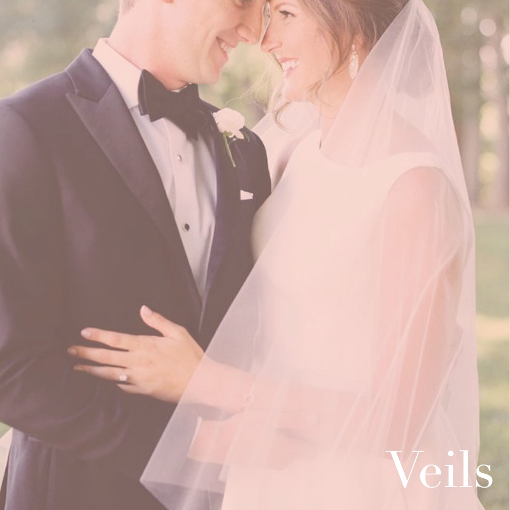 house of white bridal boutique veils