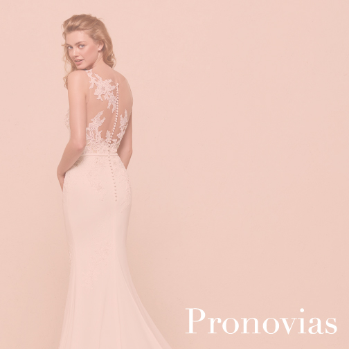 House of White Indiana Bridal Boutique Pronovias Wedding Gown