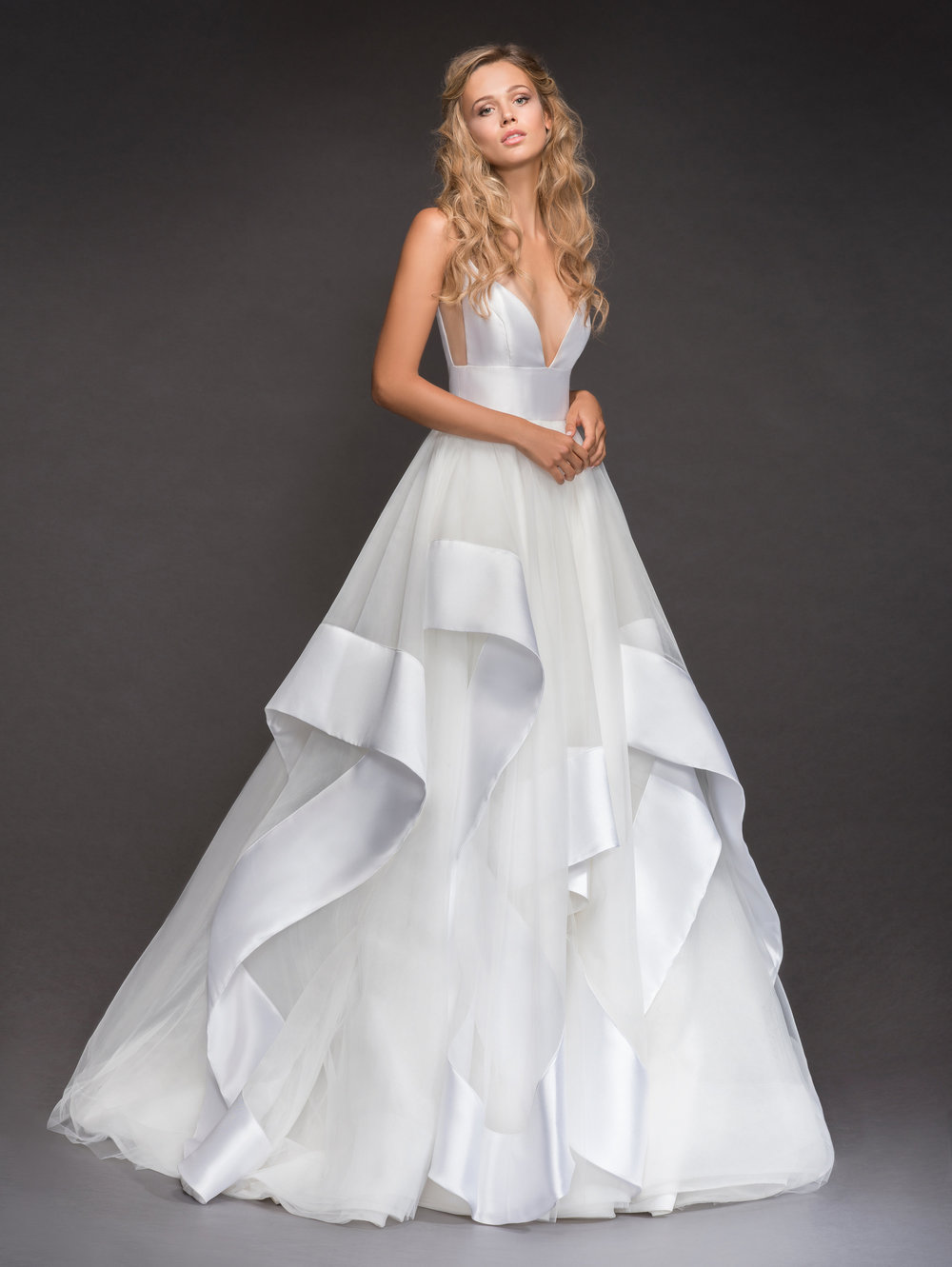 Hayley Paige Andi Gown House of White Bridal Boutique Indiana Wedding Gowns