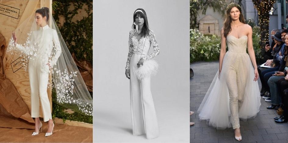 Designers from left: Carolina Herrera, Elie Saab, Monique Lhuillier