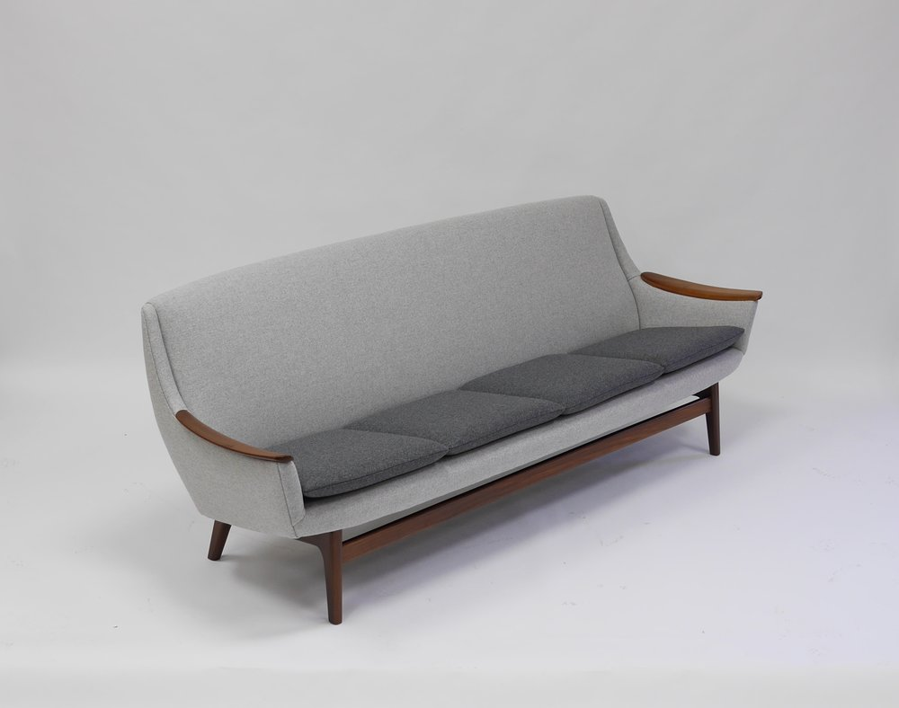 Beau Fine Scandinavian Sofa By Rastad And Relling U2014 Continuum 20th Century Design