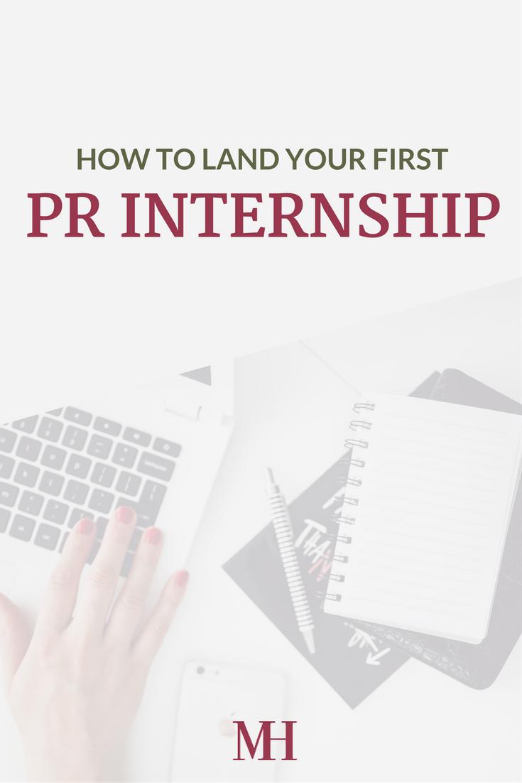 PR Internship