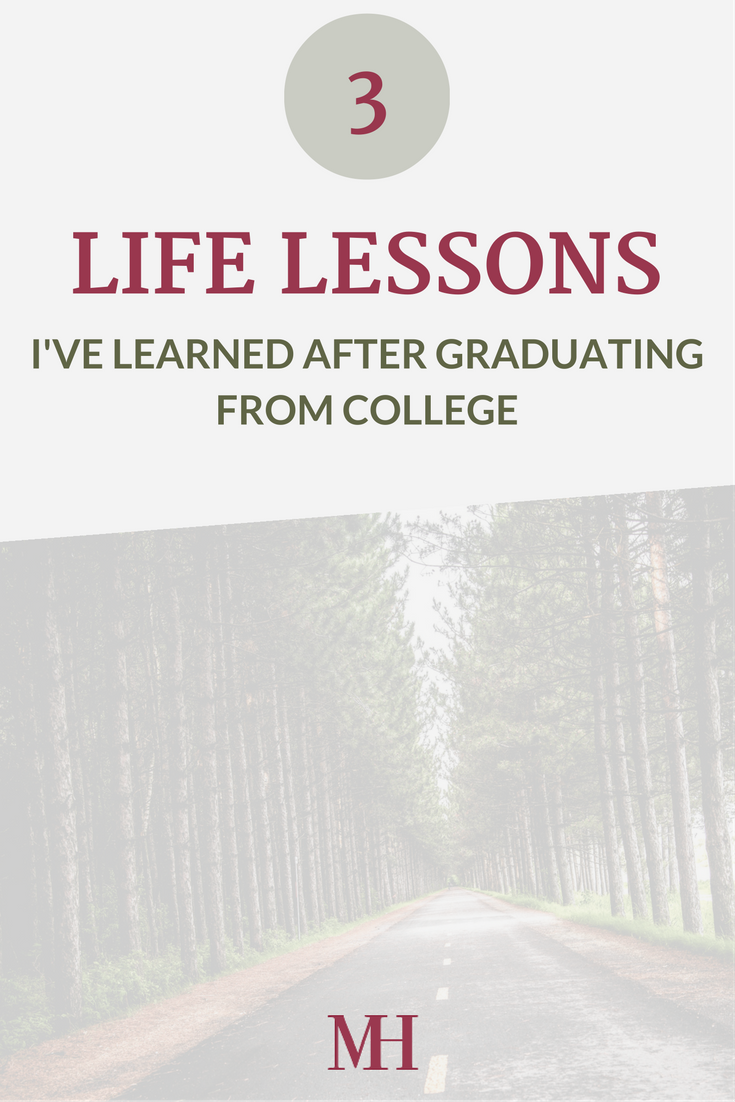 Life Lessons after College