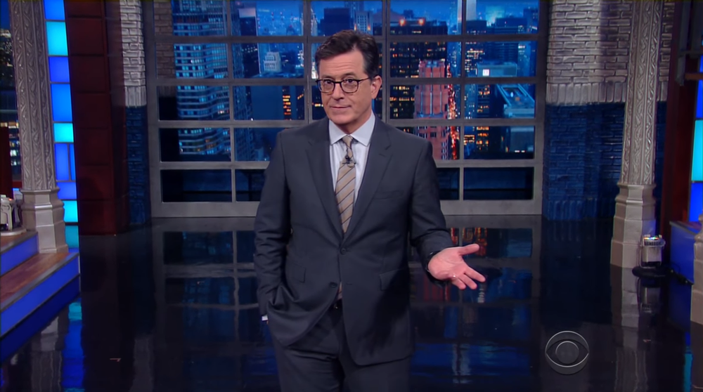 Stephen Colbert's Late Show is only available to stream on CBS All Access. CBS