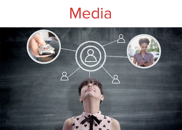 Identifying the most efficient way to deliver a compelling message to the most receptive audience. Offline, online - wherever anyone consumes video.  What's current in media? Read  here .