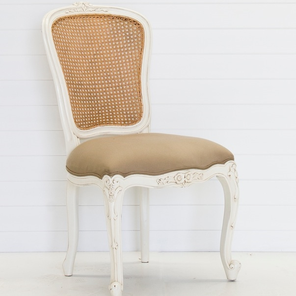 RATTAN DINING CHAIR QUANTITY: 2