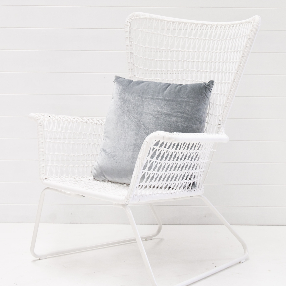 WHITE PALM SPRINGS SUN CHAIR QUANTITY: 9