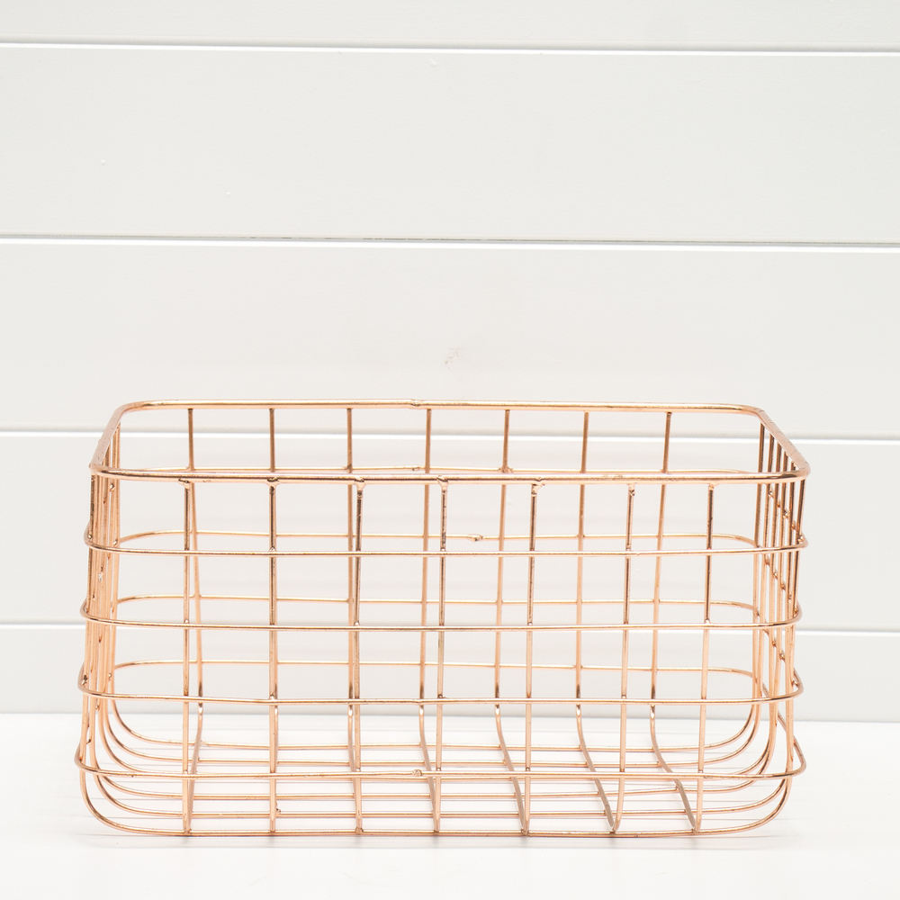 Medium Wire Copper Basket