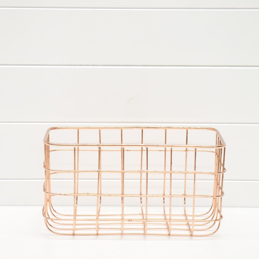 Small Wire Copper Basket