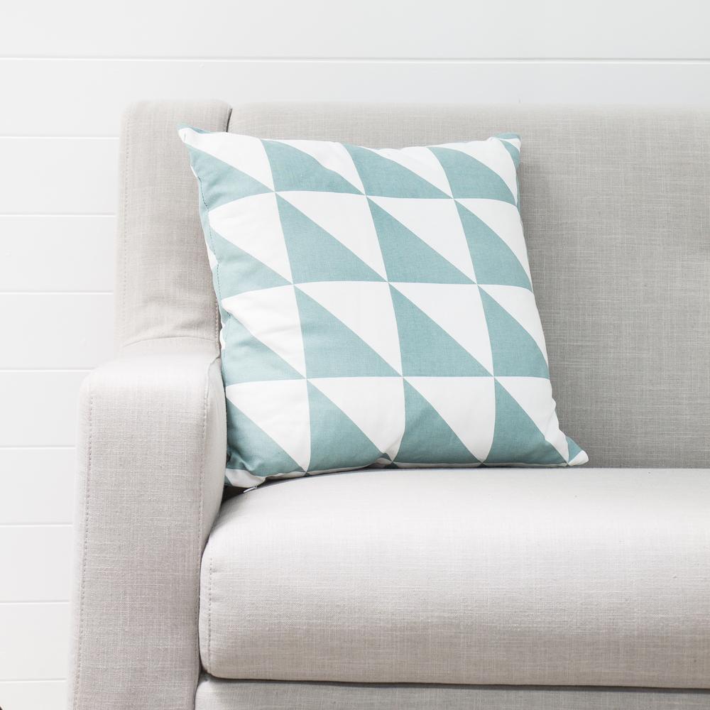 Aqua Geo Cushion