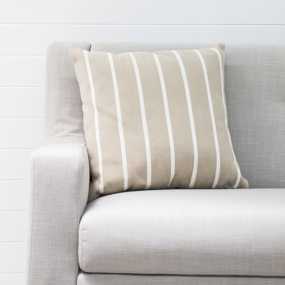 Taupe Hampton Cushion