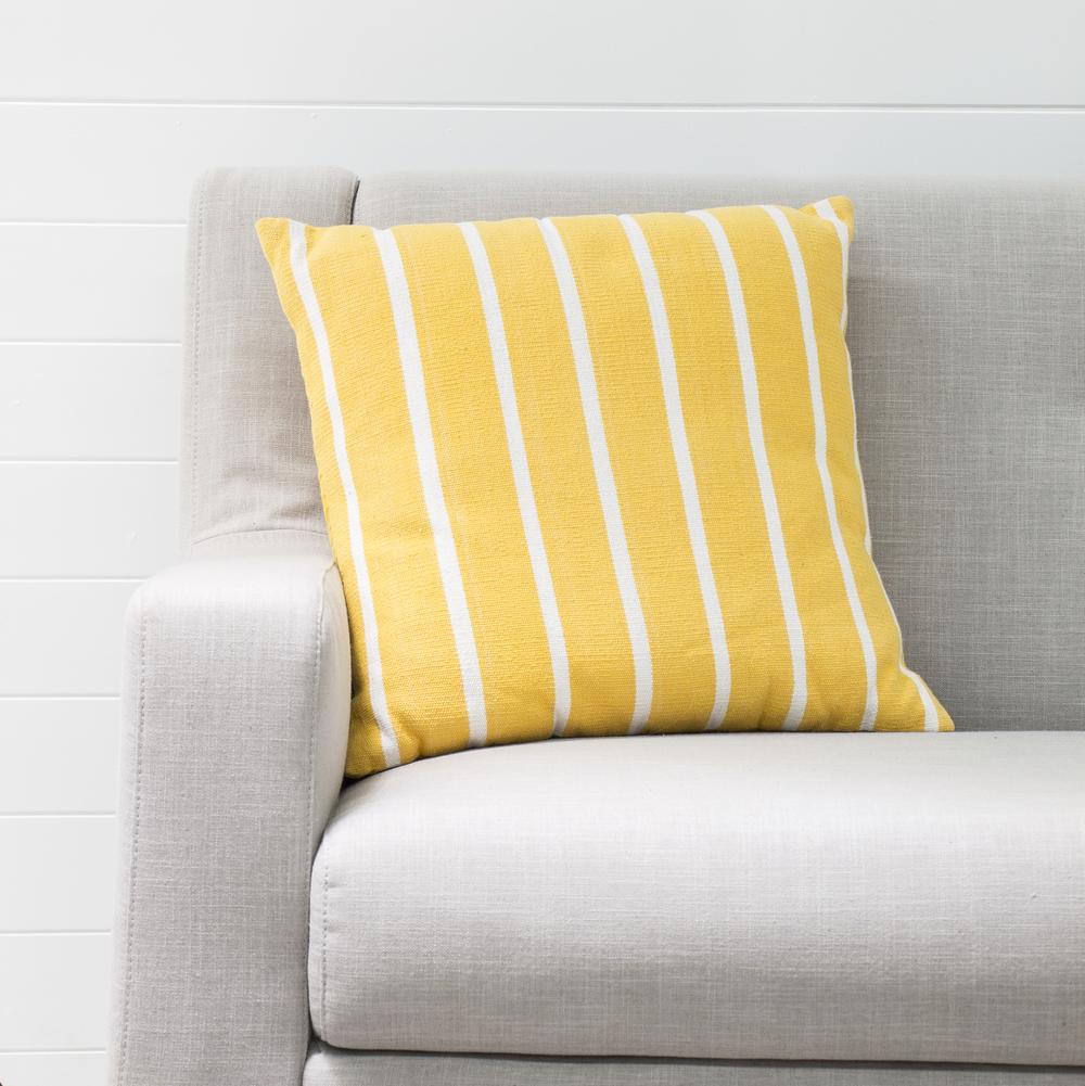 Yellow Hampton Cushion