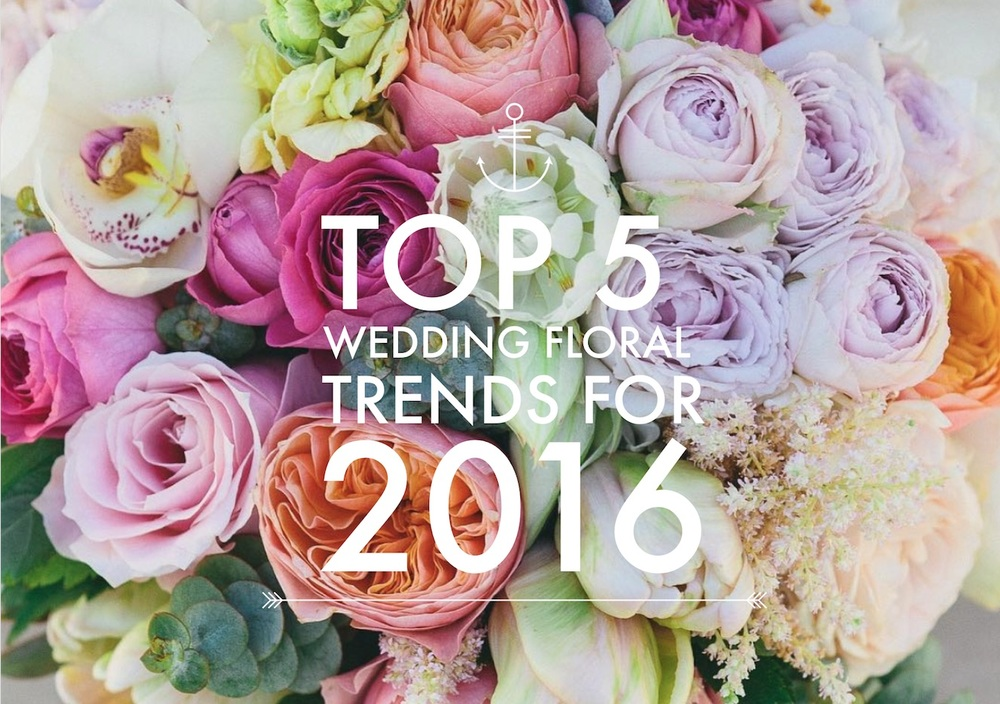 Top 5 Wedding Floral Trends For 2016 Hampton Event Hire Wedding