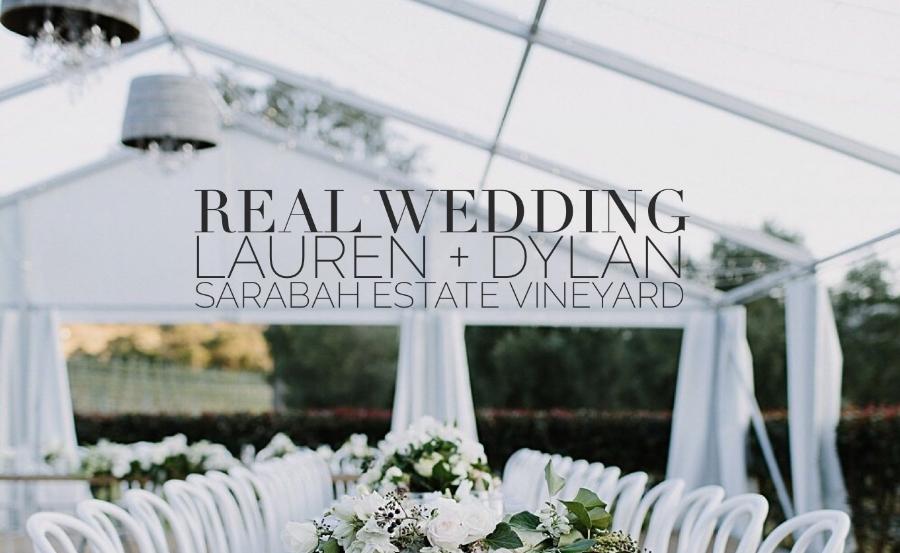 Wedding Lauren Dylan Sarabah Estate Vineyard Gold Coast
