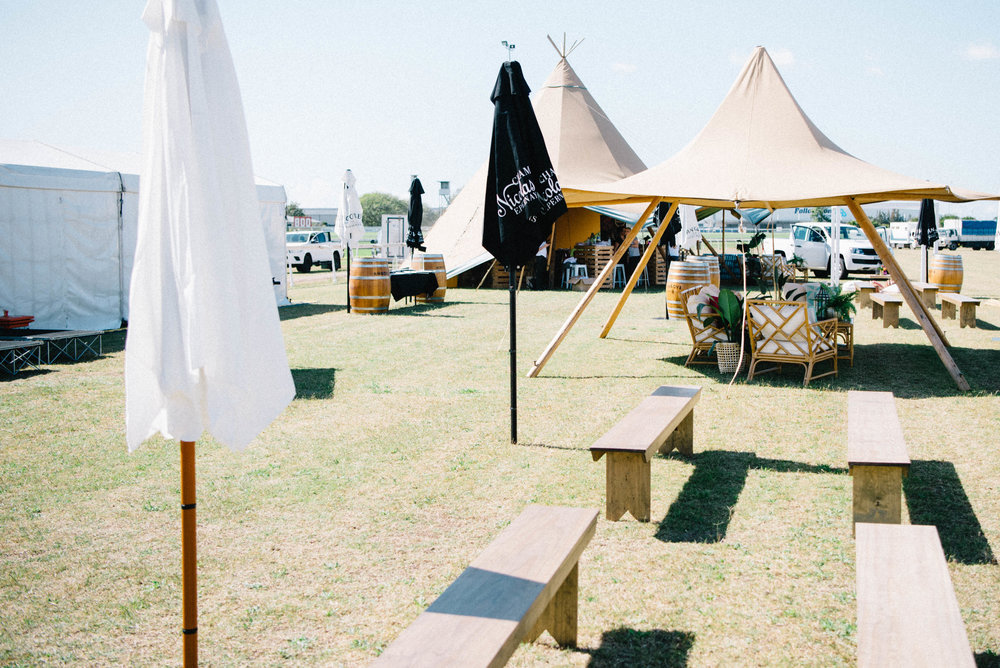 Hampton Event Hire | Brisbane Event Styling | www.hamptoneventhire.com | Polo Los Loosa, Doomben Racecourse