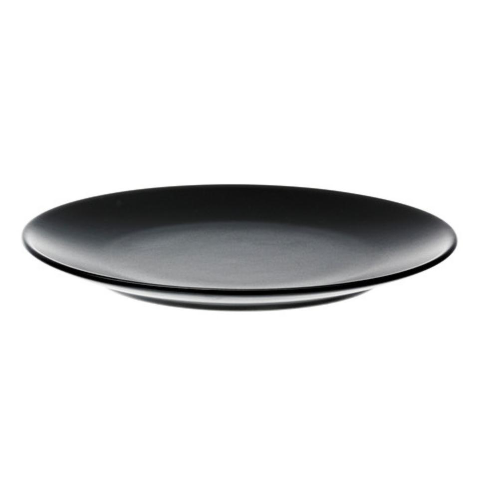 MATTE BLACK DINNER PLATE