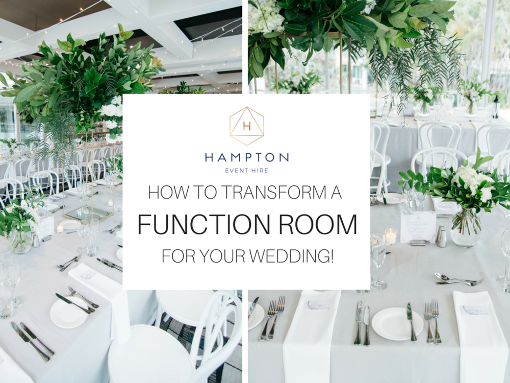 Styling Tips How To Transform A Function Room For Your Wedding