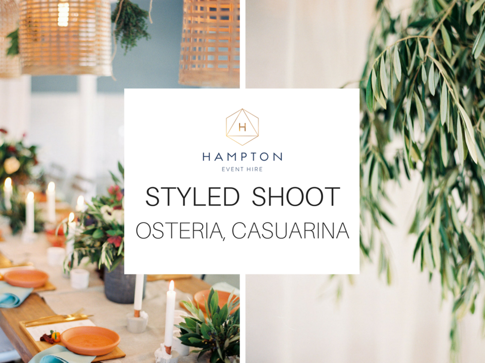 Warm Winter Wedding - Osteria, Casuarina | Hampton Event Hire - Wedding & Event Hire | www.hamptoneventhire.com | Photo by Byron Loves Fawn Photography
