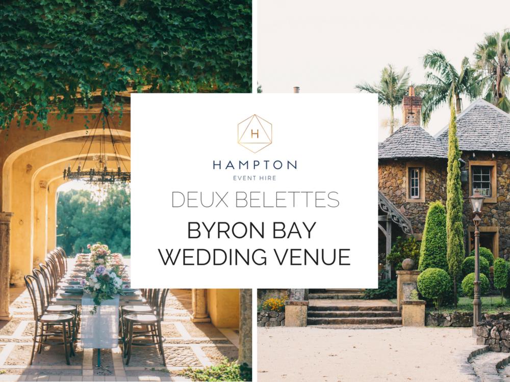 Deux Belettes - Byron Bay Wedding Venue | Hampton Event Hire - wedding and event hire | www.hamptoneventhire.com | Photo by White Images