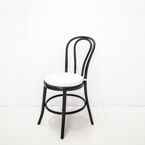 White Bentwood Chair Cushion Hampton Event Hire Wedding Event