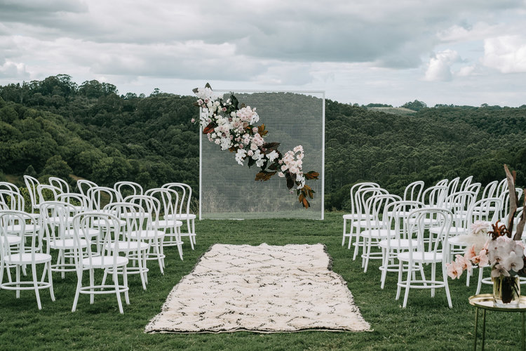 5 creative wedding backdrop ideas wedding styling inspiration styling by the events lounge florals by bower botanicals image by lucas and co junglespirit Images
