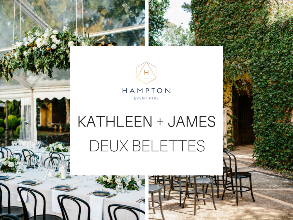 Kathleen + James - Deux Belettes, Byron Bay Wedding Venue | Hampton Event Hire - wedding and event hire | www.hamptoneventhire.com | Photo by Amelia Fullarton