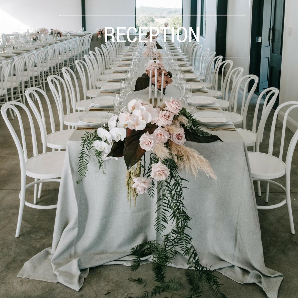 Wedding reception gallery
