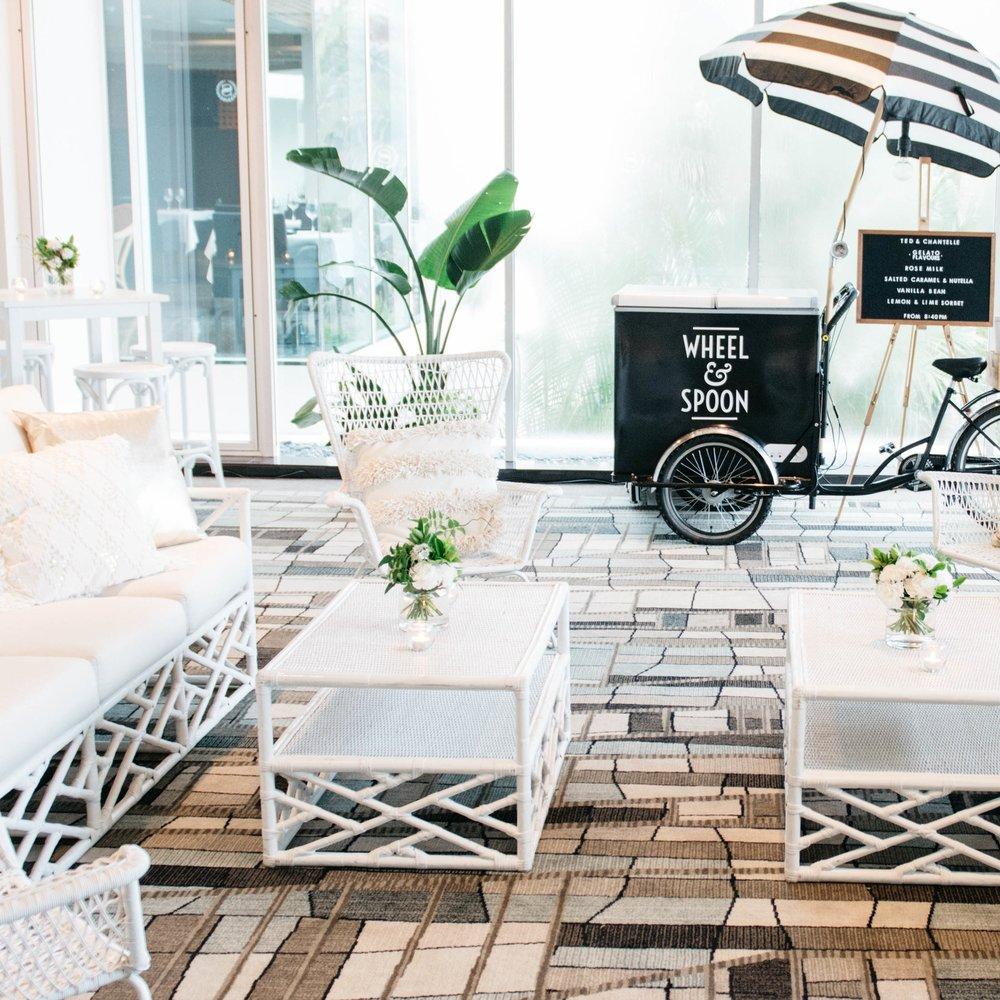 Event lounge area